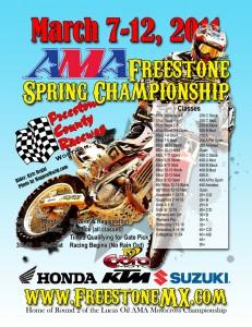 AMA Freestone Spring Championship