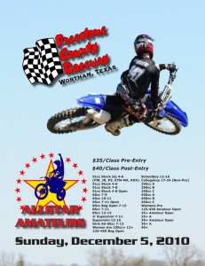AllStar Amateurs flier