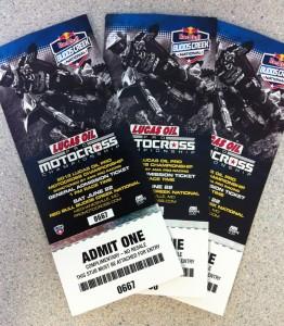 Tickets 2013 Budds Creek