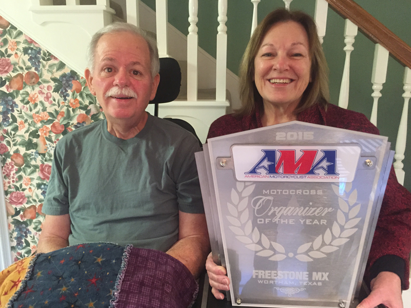 2015 AMA organizer of the year award
